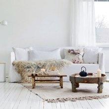Фото из портфолио Магический интерьер в белом цвете – фотографии дизайна интерьеров на INMYROOM