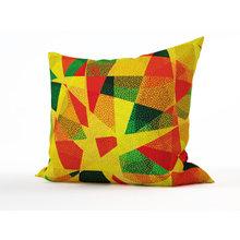 Декоративная подушка: Лоскутное шитье