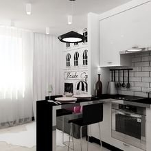 Фото из портфолио Свежо и графично – фотографии дизайна интерьеров на INMYROOM