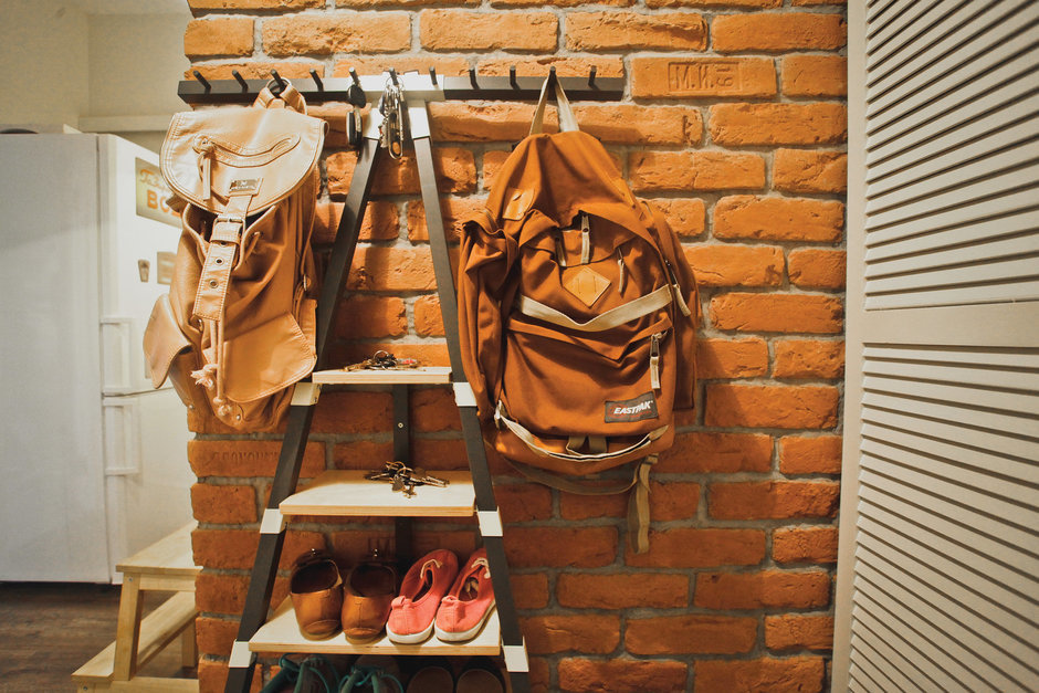 Фотография: Прихожая в стиле Лофт, DIY, Квартира, Дома и квартиры, IKEA – фото на InMyRoom.ru