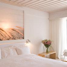 Фотография: Спальня в стиле Современный, Дома и квартиры, Городские места, Отель, Греция – фото на InMyRoom.ru