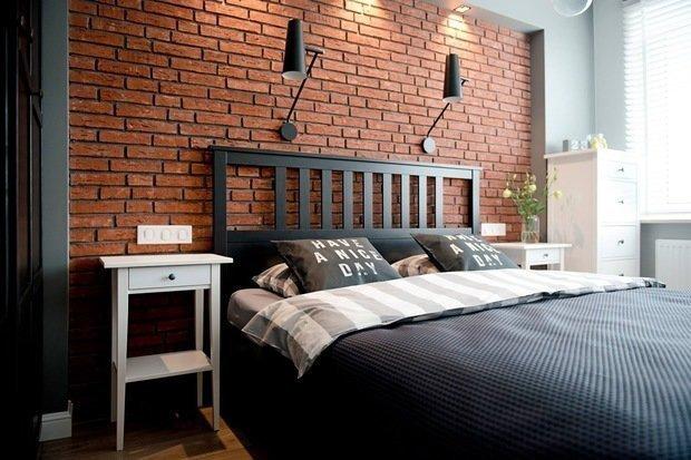 Фотография: Спальня в стиле Лофт, Скандинавский, Декор интерьера, Квартира, Советы, Дорого и бюджетно – фото на INMYROOM