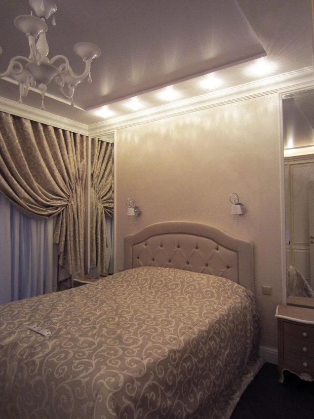 Фото из портфолио Квартира 85 м2 в лёгкой классике – фотографии дизайна интерьеров на INMYROOM