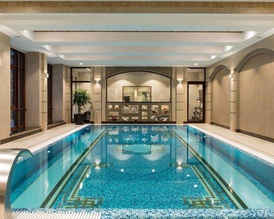 Фото из портфолио Частный бассейн в загородном доме – фотографии дизайна интерьеров на INMYROOM