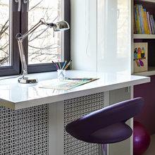 Фотография: Офис в стиле Эклектика, Классический, Современный, Восточный, Квартира, Дома и квартиры – фото на InMyRoom.ru