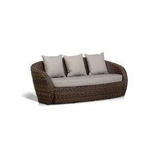 """диван трехместный """"Авела"""" темно-коричневый"""