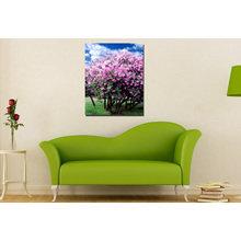 Декоративная картина: Деревья в цвету