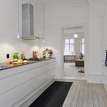 Фотография: Кухня и столовая в стиле Лофт, Скандинавский, Декор интерьера, Декор дома, Цвет в интерьере, Белый, Эко – фото на InMyRoom.ru