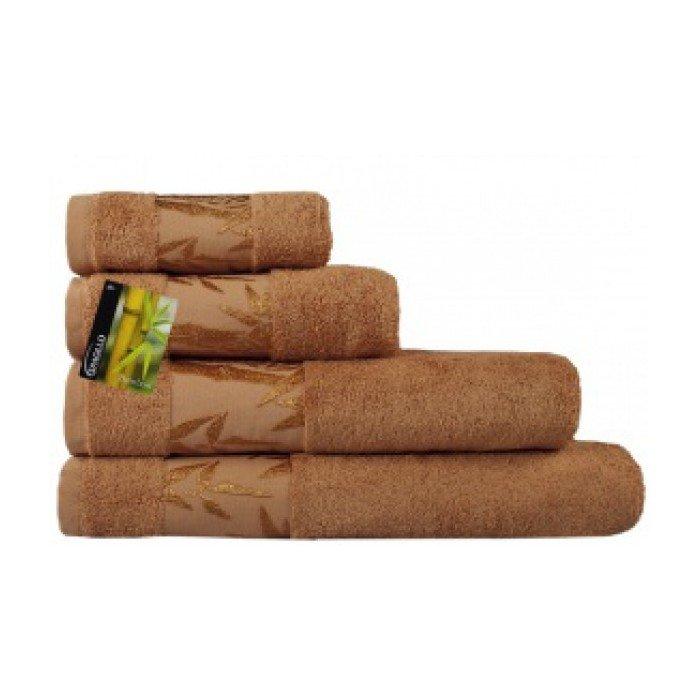 Полотенце Бамбук 50х90 терракотовый (манго)