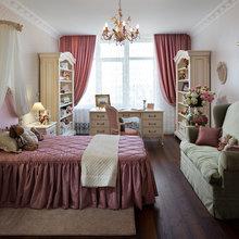 Фотография: Спальня в стиле Кантри, Классический, Квартира, Дома и квартиры, Пентхаус – фото на InMyRoom.ru