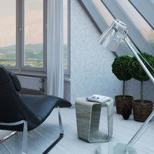 Фотография: Балкон, Терраса в стиле Хай-тек – фото на InMyRoom.ru