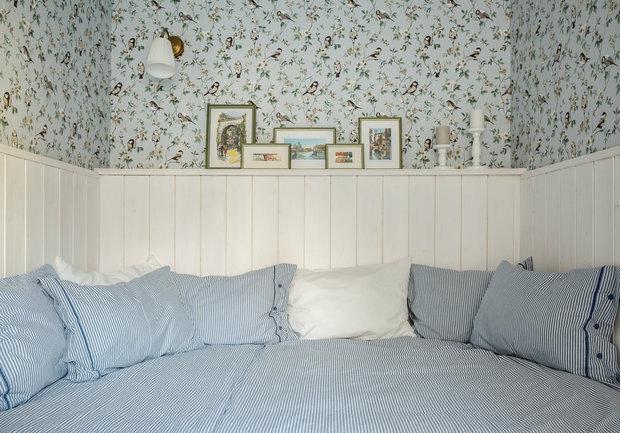 Фотография: Спальня в стиле Прованс и Кантри, Квартира, Проект недели, Москва, 3 комнаты, 60-90 метров – фото на INMYROOM
