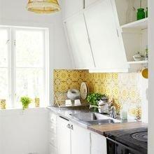 Фотография: Кухня и столовая в стиле Кантри, Скандинавский, Декор интерьера, Дизайн интерьера, Цвет в интерьере – фото на InMyRoom.ru
