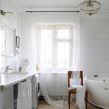 Фотография: Ванная в стиле , Кантри, Дом, Дома и квартиры, Проект недели, Дача – фото на InMyRoom.ru