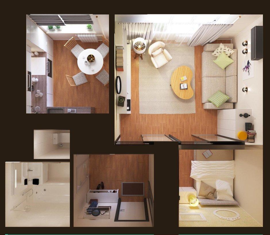Фотография: Планировки в стиле , Гид – фото на InMyRoom.ru