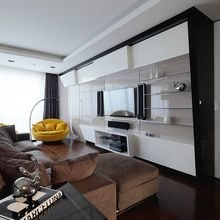 Фотография: Гостиная в стиле Хай-тек, Декор интерьера, Квартира, Дом, Дача – фото на InMyRoom.ru