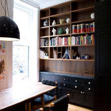 Фотография: Кабинет в стиле Минимализм, Эко, Дом, Дома и квартиры, Перепланировка, Нью-Йорк – фото на InMyRoom.ru