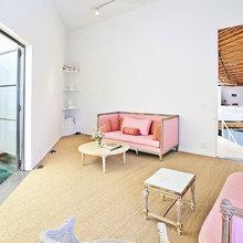 Фотография: Гостиная в стиле Современный, Дома и квартиры, Интерьеры звезд – фото на InMyRoom.ru