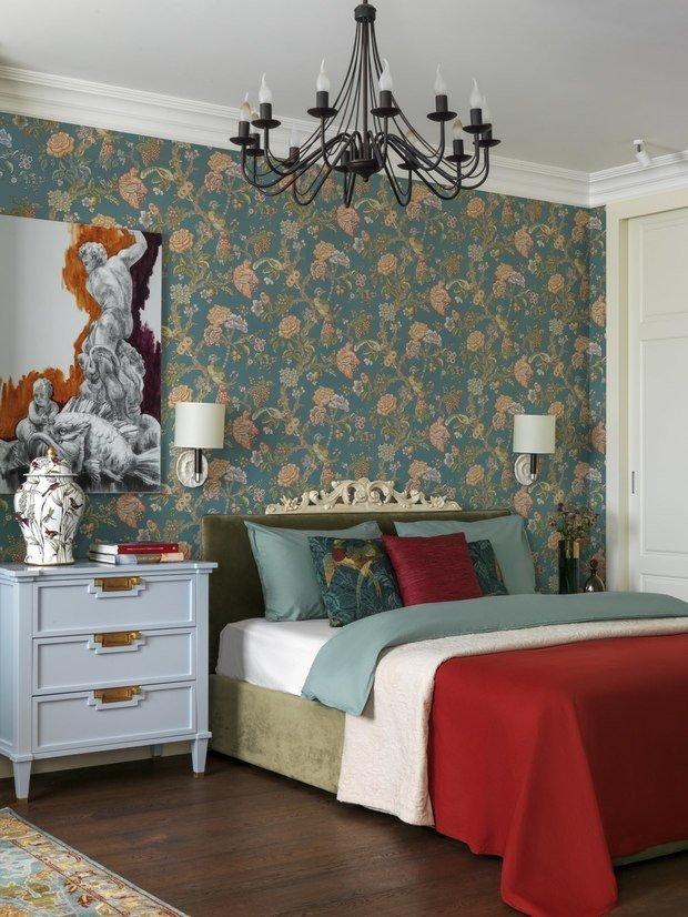 Фотография: Спальня в стиле Эклектика, Уютная квартира, Олеся Шляхтина, Анна Моджаро, Elements, Pallage Studio, ПРЕМИЯ INMYROOM – фото на INMYROOM
