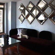 Фотография: Гостиная в стиле Современный, Декор интерьера, Дом, Декор дома, Зеркало – фото на InMyRoom.ru