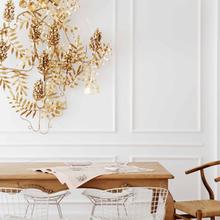 Фотография: Кухня и столовая в стиле Кантри, Декор интерьера, DIY, Дом, Декор дома, Цвет в интерьере, Обои – фото на InMyRoom.ru