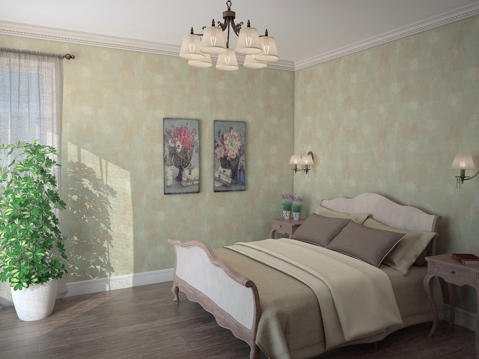 Фотография: Спальня в стиле Прованс и Кантри, Дом, Дома и квартиры, Прованс – фото на InMyRoom.ru