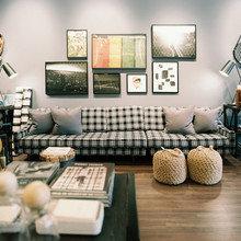 Фотография: Гостиная в стиле Лофт, Современный, Декор интерьера, Декор дома, Прованс, Пол – фото на InMyRoom.ru