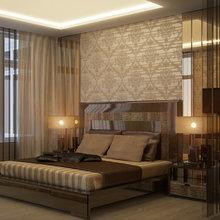 Фото из портфолио Дизайн интерьера спальни. Квартира. Киев 2014 – фотографии дизайна интерьеров на InMyRoom.ru