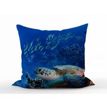 Декоративная подушка: Путь черепахи