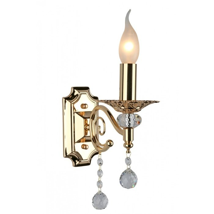 Бра Omnilux в виде свечи с подсвечником