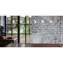 Подвесной светильник Beton Glitter Black