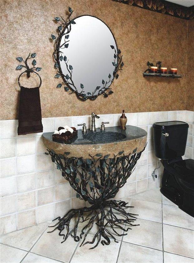 Фотография: Ванная в стиле Прованс и Кантри, Эклектика, Декор интерьера, Декор дома – фото на InMyRoom.ru