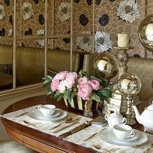 Фотография: Кухня и столовая в стиле Современный, Классический, Эклектика, Квартира, Текстиль, Дома и квартиры – фото на InMyRoom.ru