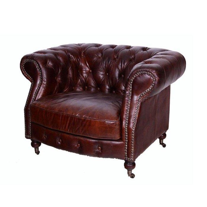 Кожаное кресло Бельфор