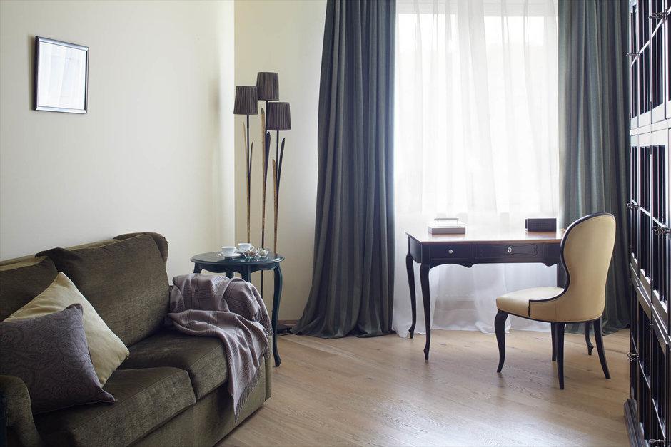 Фотография: Гостиная в стиле Прованс и Кантри, Классический, Современный, Квартира, Проект недели – фото на InMyRoom.ru