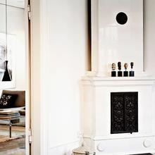 Фотография: Гостиная в стиле Кантри, Декор интерьера, Квартира, Дома и квартиры, Камин – фото на InMyRoom.ru