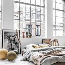 Фотография: Спальня в стиле Лофт, Скандинавский, Советы, Ольга Почуева – фото на InMyRoom.ru