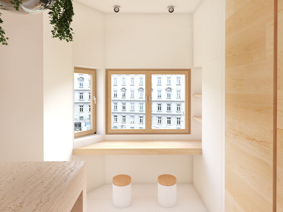 Фотография: Балкон, Терраса в стиле Современный, Восточный, Квартира, Дома и квартиры, Минимализм, Проект недели – фото на InMyRoom.ru
