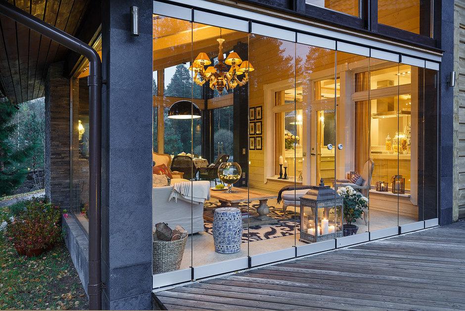 Фотография: Балкон, Терраса в стиле , Классический, Дом, Дома и квартиры, Проект недели, Дача – фото на InMyRoom.ru
