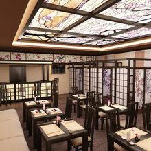 Фото из портфолио Сушы бар в японском стиле – фотографии дизайна интерьеров на InMyRoom.ru