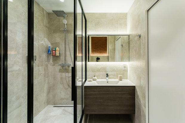 Фотография: Ванная в стиле Минимализм,  – фото на INMYROOM