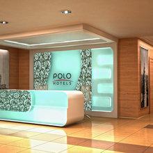 Фото из портфолио Гостиница. Концепция основных зон сети Отелей Polo Hotels – фотографии дизайна интерьеров на InMyRoom.ru