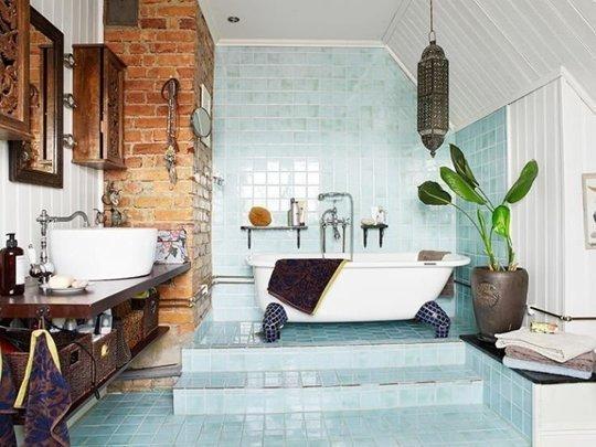 Фотография: Ванная в стиле Лофт, Декор интерьера, Декор, Советы – фото на InMyRoom.ru