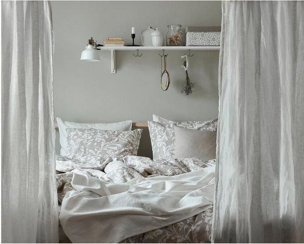 Фотография: Спальня в стиле Скандинавский, Советы, ИКЕА, товары для дома, скидки – фото на INMYROOM