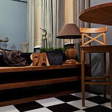 Фото из портфолио Бюджетная квартира на Пролетарке – фотографии дизайна интерьеров на InMyRoom.ru