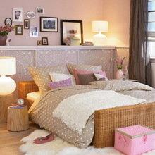 Фотография: Спальня в стиле Кантри, Скандинавский, Интерьер комнат – фото на InMyRoom.ru