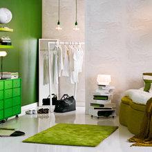 Фотография: Спальня в стиле Современный, Скандинавский, Декор интерьера, Швеция, Декор дома, Цвет в интерьере, Белый – фото на InMyRoom.ru