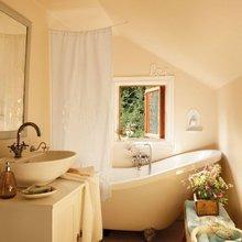 Фотография: Ванная в стиле Кантри, Скандинавский, Дом, Дома и квартиры, IKEA, Дача – фото на InMyRoom.ru