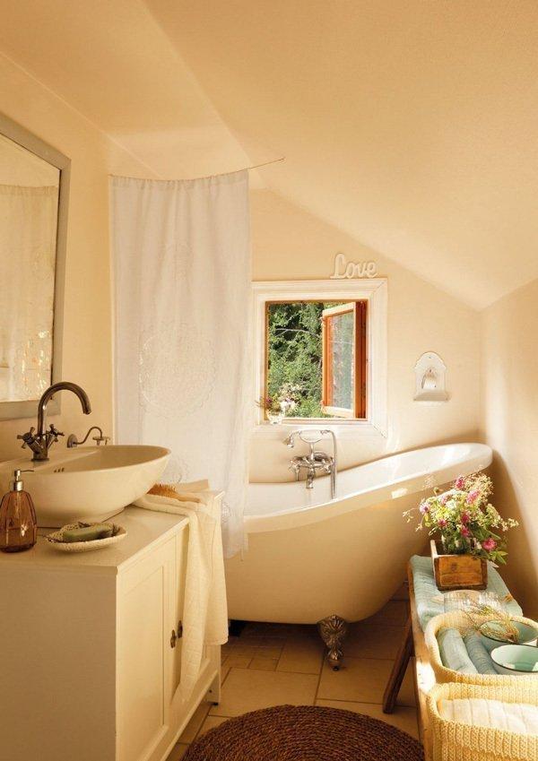 Фотография: Ванная в стиле Прованс и Кантри, Скандинавский, Дом, Дома и квартиры, IKEA, Дача – фото на InMyRoom.ru