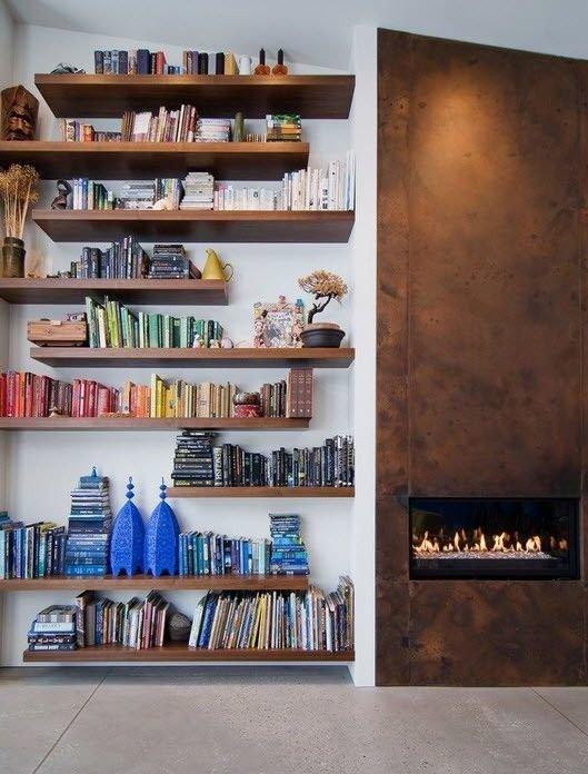 Фотография: Декор в стиле Лофт, Эклектика, Хранение, Стиль жизни, Советы, Библиотека – фото на InMyRoom.ru